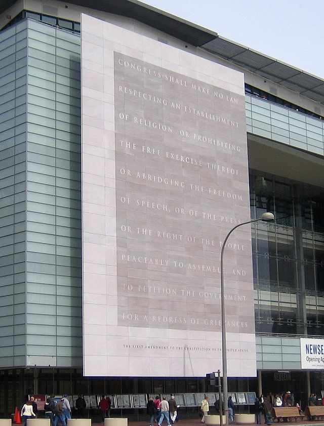 Freedom of Press Building Newseum by David Monack