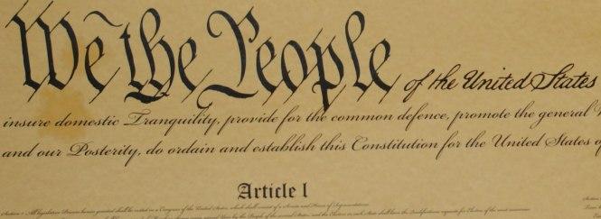 U.S. Constitution (4) - Copy