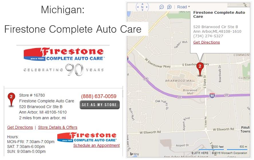 Firestone Complete Auto Care graphic