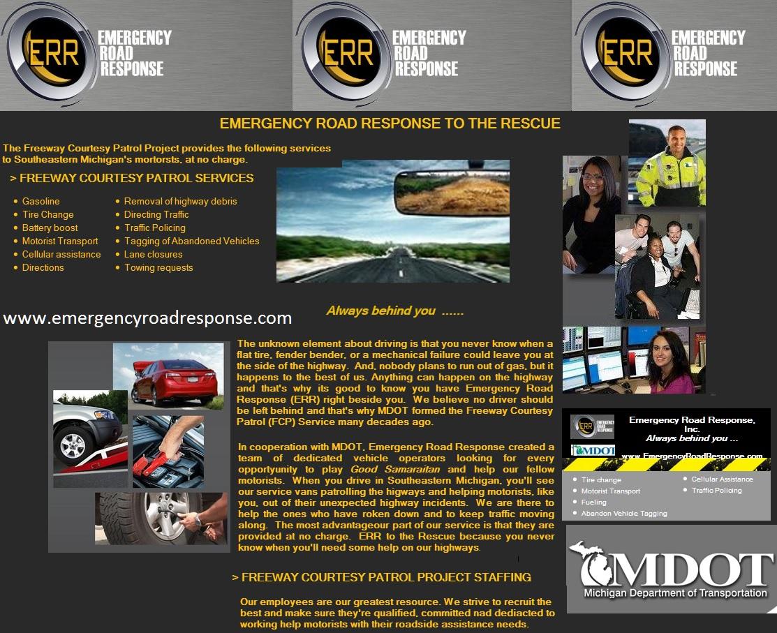 MDOT Road Response graphic