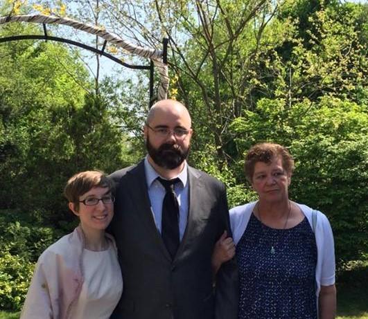 Robert and Lara Dendel Kumpula May 22, 2016 #2 Mom Donna Kumpula (2)