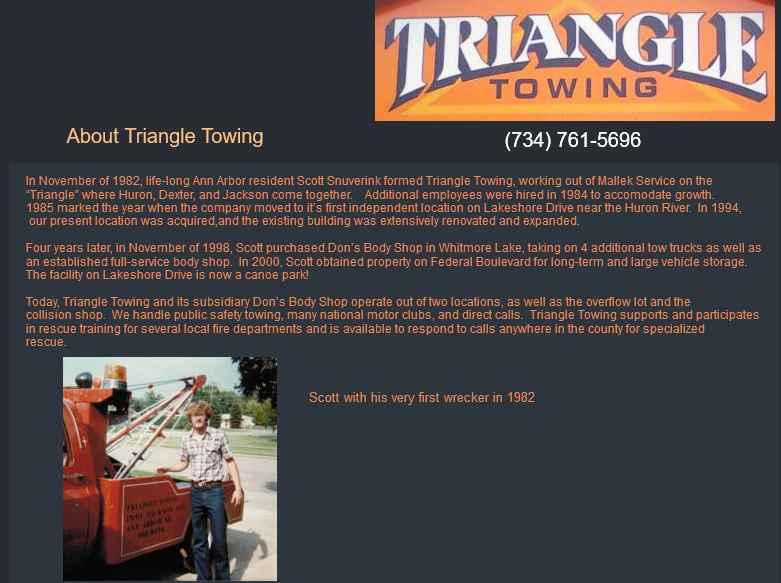 Triangle Towing history pix 2