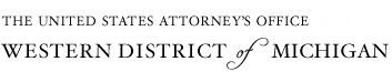 U.S. Attorney for the Western District Michigan logo