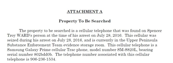 #3 Search warrant for Cell phone, social media against drug kingpin