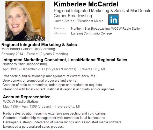 Kimberlee McCardel LinkedIn Graphic