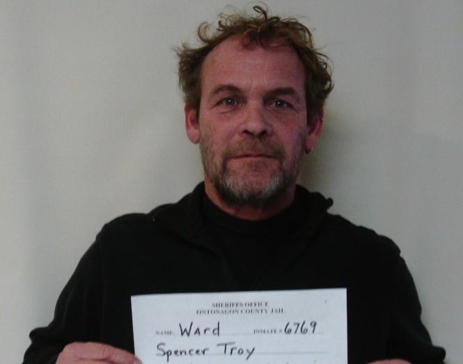 Spencer Troy Ward mugshot
