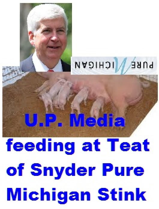U.P. Media at Pig's Teat 2