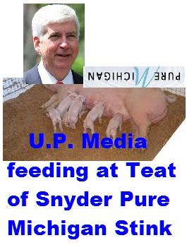 U.P. Media at Pig's Teat