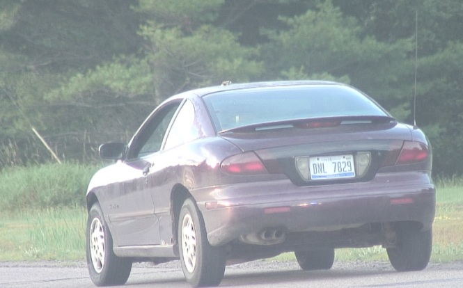Video FF of Suspect's Car