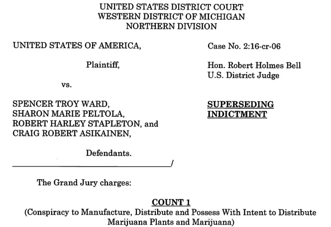 Ward, others indictment 1