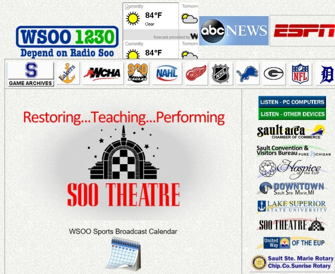 WSOO Radio website