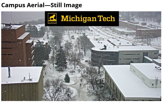 MTU snow webcam 12-8-17 1