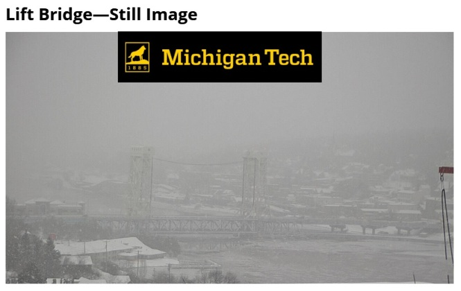 mtu snow webcam 12-8-17 3