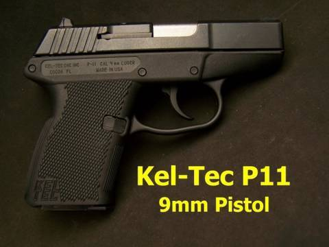 Kel-Tch, Model P-11, 9 mm pistol ATR29