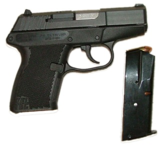 Kel-Tech, Model P-11, 9 mm pistol – serial number ATR29