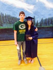 Krista Urbanc Graduation in August 2014 from Norway High School
