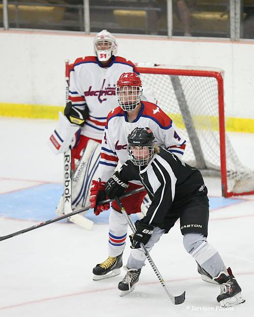 Ben Johnson (middle player) at Lakeview Arena in Marquette, MI Sept. 2014 2 (Middle player)
