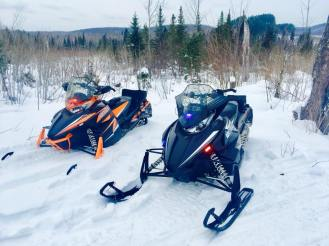 Wisconsin police snowmobiles at Iron County Sheriff's Department and its Sheriff Tony Furyk
