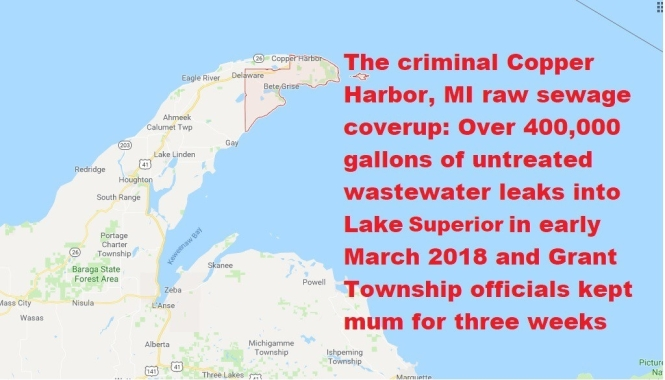 Criminal coverup Grant Twp graphic