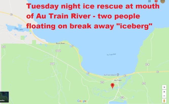 Ice rescue graphic