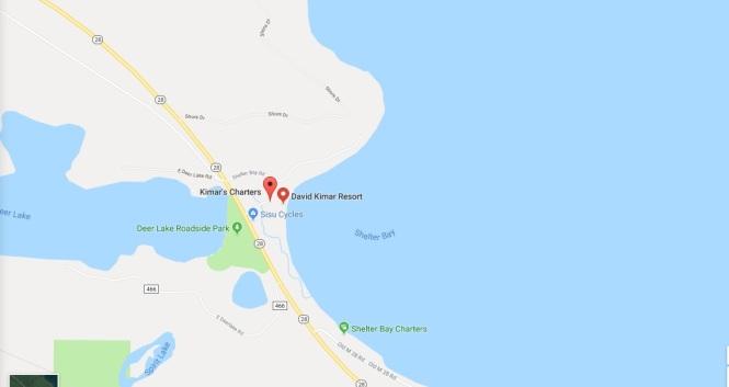 Kimar's Resort map 3