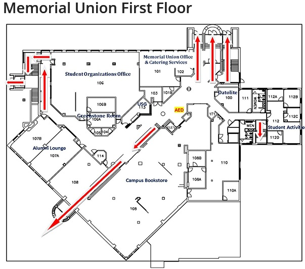 MTU Memorial Union Building 2