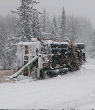 Snowplow crash 1