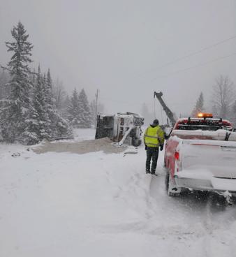 Snowplow crash 2