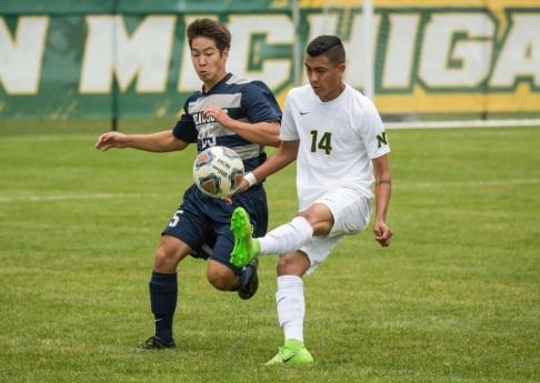 Edgar Astorga at NMU soccer