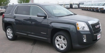 gray 2011 GMC Terrain-simiar to missing person's vehicle 3