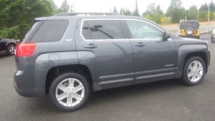 gray 2011 GMC Terrain-simiar to missing person's vehicle