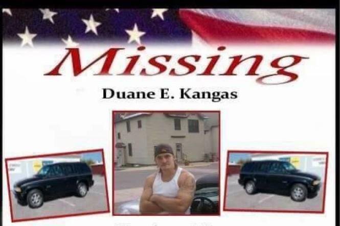 Help Find Duane Kangas 1