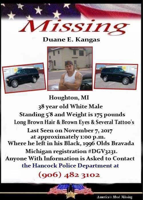 Help Find Duane Kangas 3