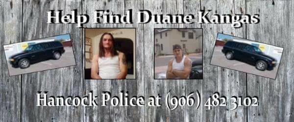 Help Find Duane Kangas 4