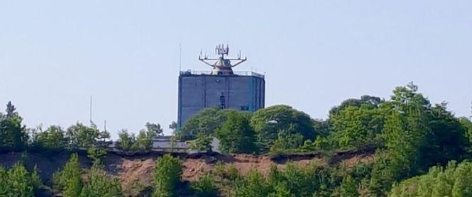 July 2016 photo former Soo Radar Base photo via fortwiki by John Stanton