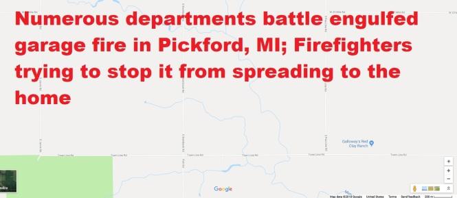 Pickford fire