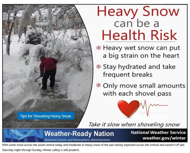 Sat storm heavy snow shovel graphic