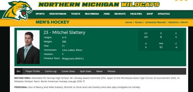 Slattery NMU website graphic